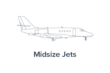 Picture of a Midsize Jet